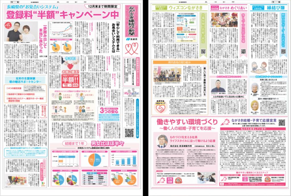 「ながさき縁結び新聞」画像